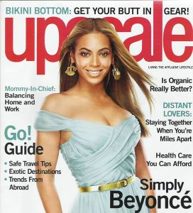 UPSCALE Cover / Judith Jamison's Makeup