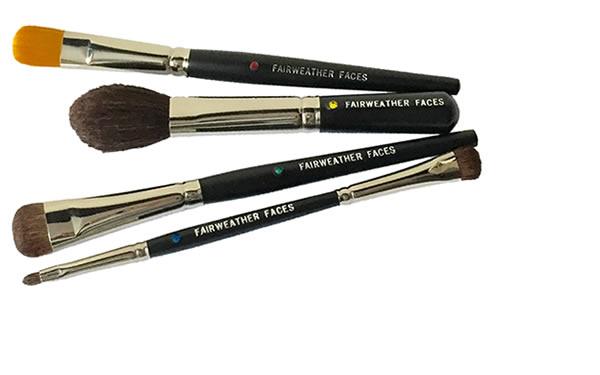 Professional Travel-size Makeup Brush Set