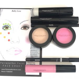 Fairweather Faces Makeup Brushes