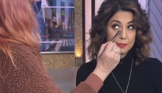 Cecilia wears RUBY RUBY on GMA 12/22/20